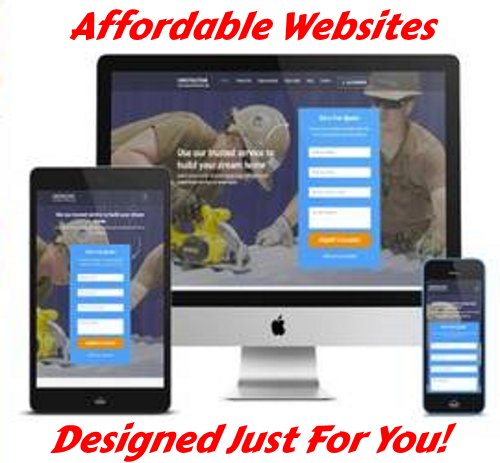 websites on a budget lazer web services