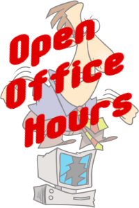 Client Only Open Office Hours at Lazer Web Services